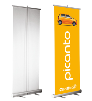 Roll Up Banner, X Banner ve L Banner